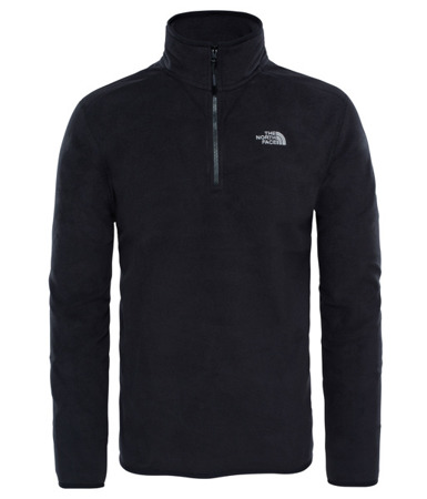 Polar męski The North Face 100 Glacier 1/4 Zip
